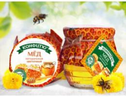 Мёд натуральный-цветочный