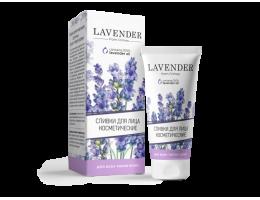 Сливки для лица для всех типов Lavender
