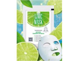 Тканевая маска LIME MASK для кожи, склонной к отечности
