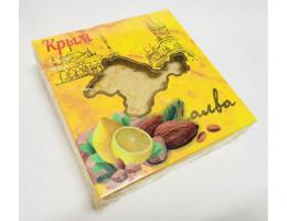 Халва тахинная с миндалем и лимоном