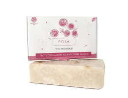 Натуральное мыло РОЗА на молоке