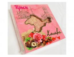 Халва арахисово-тахинная с розой и фундуком