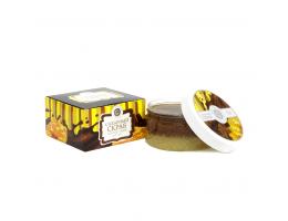 """Сахарный скраб """"Шоколад с медом"""""""