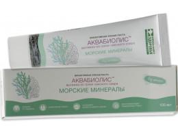 """Зубная паста """"Морские минералы"""" АКВАБИОЛИС"""