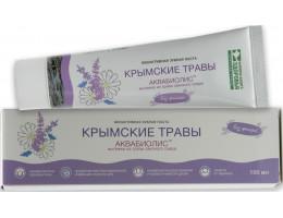 """Зубная паста """"Крымские травы"""" АКВАБИОЛИС"""